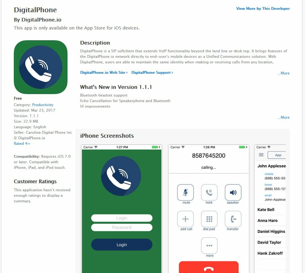 smartphone apple app