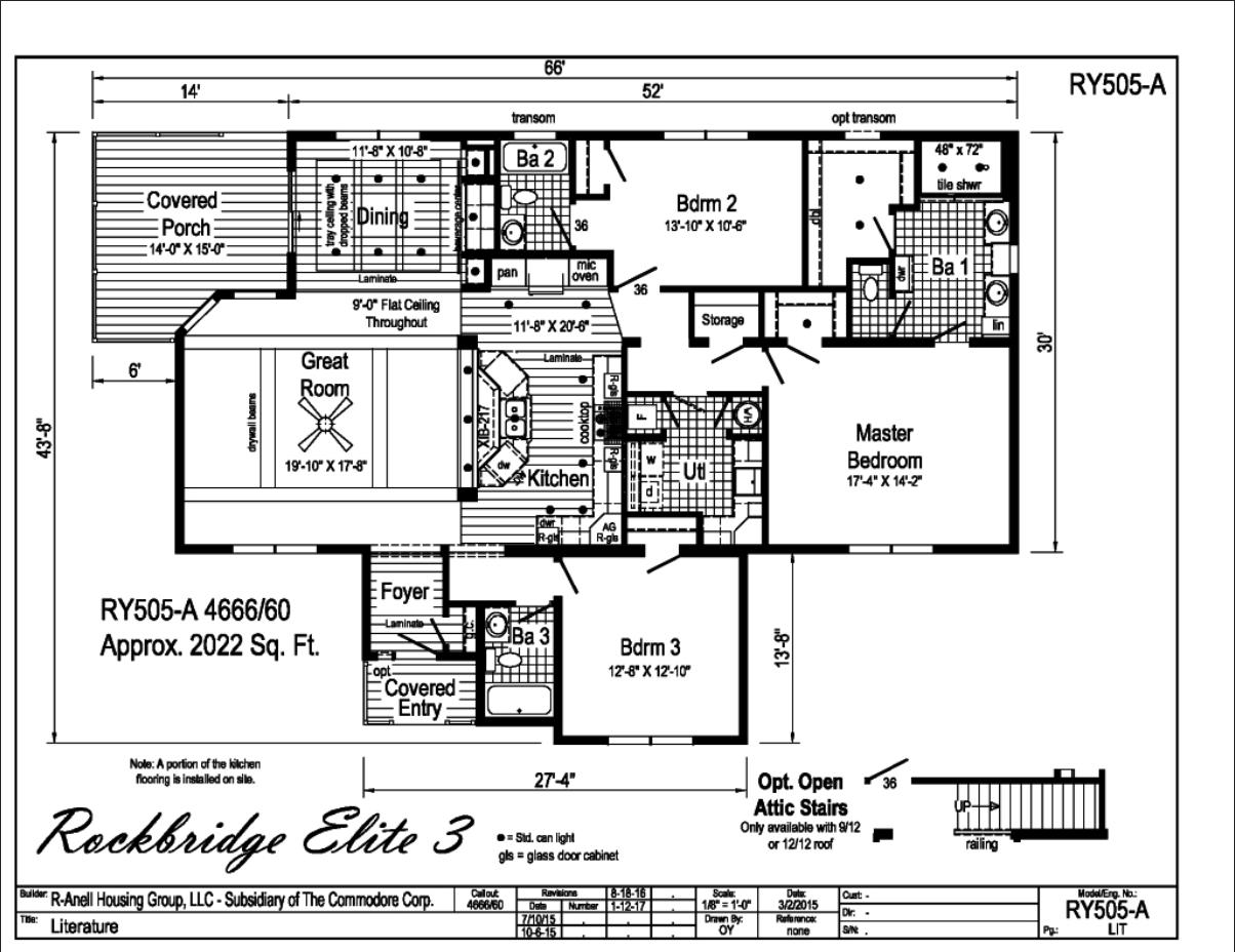 Rockbridge Elite 3 Carolina Diversified Builders