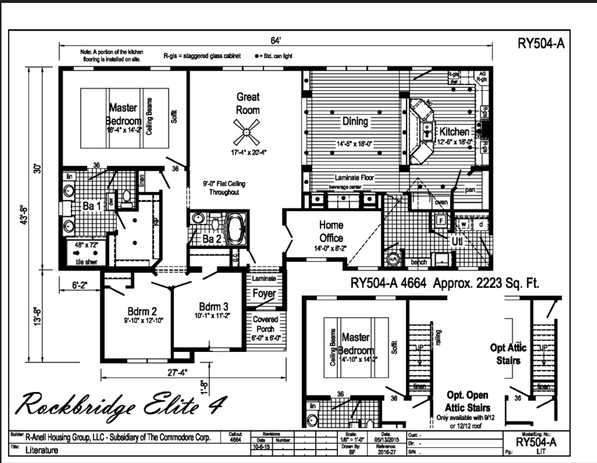 Rockbridge Elite 4 Carolina Diversified Builders