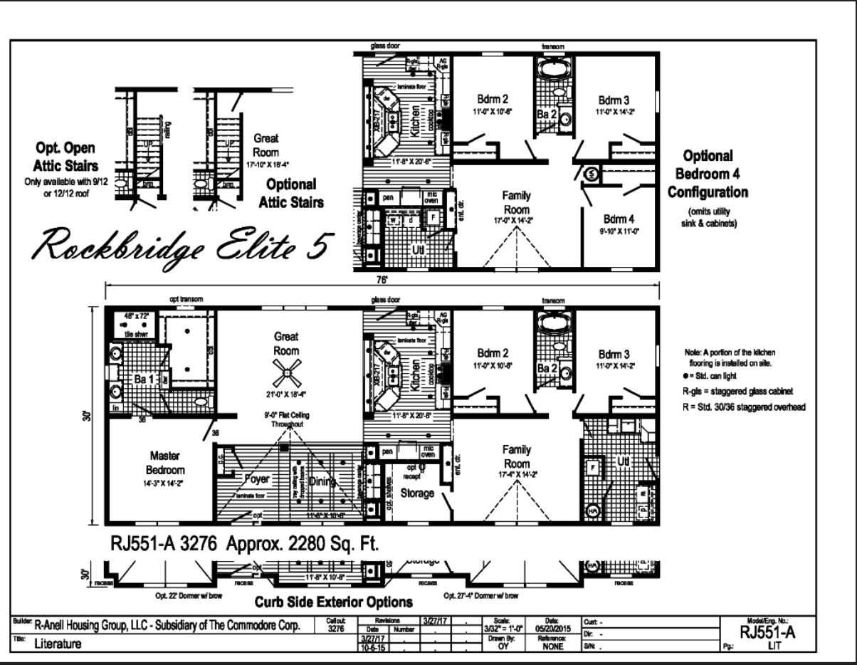 Rockbridge Elite 5 Carolina Diversified Builders