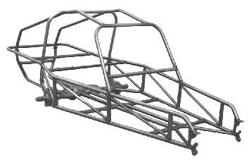 Warrior 2-Seater Sand Rail Knockdown Kit