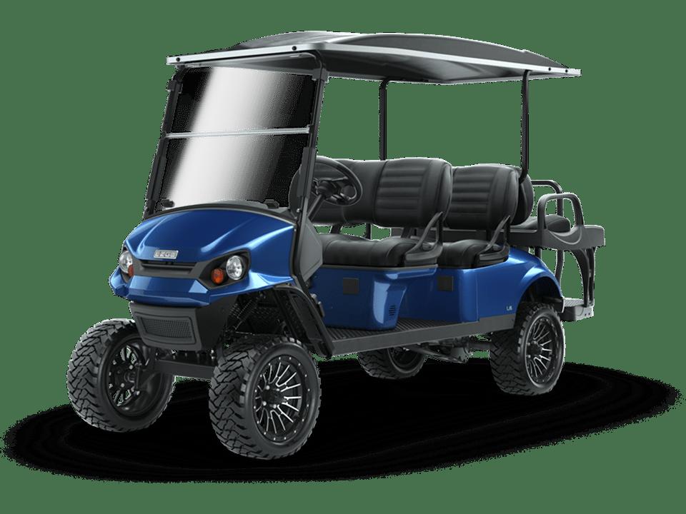 EZGO L6 Electric Blue