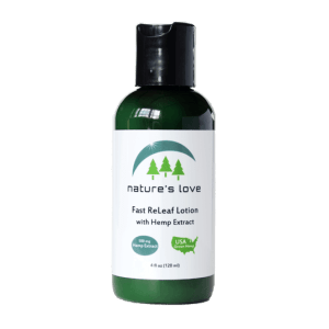Fast ReLeaf Lotion – Full Spectrum Hemp Extract – 500mg (450mg CBD)