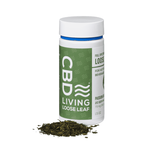 CBD Living Passion Green Tea Loose Leaf