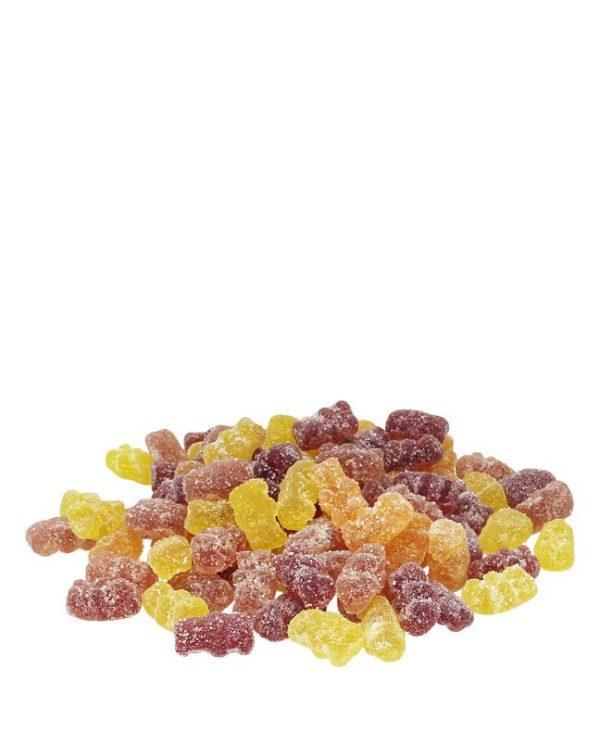 Vegan and Organic CBD rich gummy bears - edibles- from Sun State Hemp and Carolina Hemp Hut