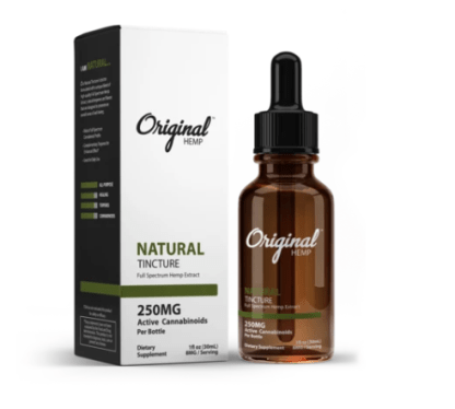 CBD from Original Hemp in Natural formula