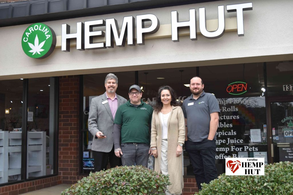 Carolina Hemp Hut Operations Team are here and ready be helping people like you