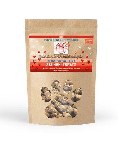 Freeze Dried Pet Treats with CBD