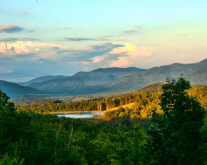 Grandview Peaks North Carolina with Mountain and Lake Front Home Sites for sale Call Ken Williams 828-429-4004