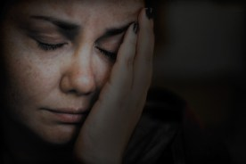 Self-portrait with migraine.