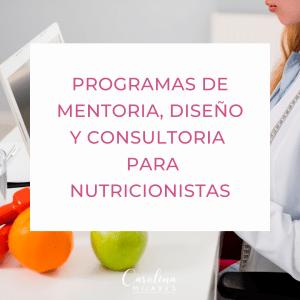 Programas de Marketing para Nutricionistas