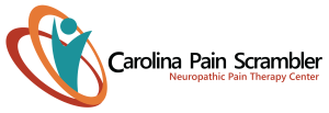 Carolina Pain Scrambler Logo, Chronic Pain, Greenville, SC