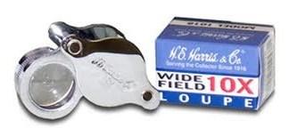 H.E. Harris Wide Field 10x Magnifier