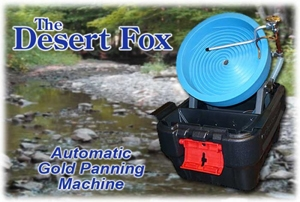 The Desert Fox Automatic Gold Panning Machine - Variable Speed