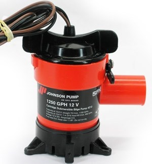 Johnson 1250 GPH 12V Pump