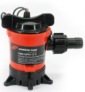 Johnson 1000 GPH 12V Pump