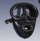 Proline - M37BS Pegasus Full Face Diving Mask (black silicone)