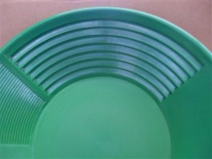"""Green - Pioneer 14"""" Gold Pan"""