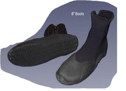 "Proline - 8"" Diving Boots 5MM Size 12"