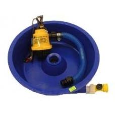 Blue Bowl Concentrator W/ Leg Leveling Clips & Pump