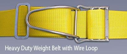 Proline - Heavy Duty Weight Belt w/Wire Loop