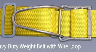 Proline - Heavy Duty Weight Belt w/Wire Loop