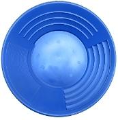 """Blue - Martin Prospecting Original 14"""" Gold Pan"""