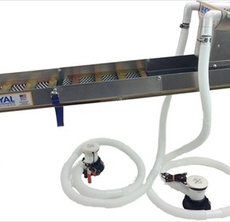 "Royal - Multi-Purpose True Highbanker/Hopper 50"" Folding Suice Box Kit"