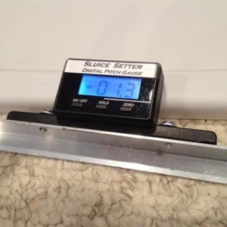 SLUICE SETTER DIGITAL PITCH GAUGE