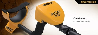 Garrett Ace 400  with 3 FREE Accessories