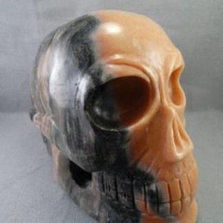 Large Marble Skull
