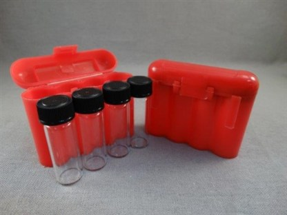 VIAL STORAGE BOX - RED