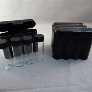 VIAL STORAGE BOX - BLACK