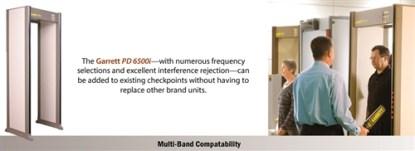 "PD 6500i™ Enhanced Pinpoint Walk-Through Metal Detector - STANDARD 30"" VERSION - GREY"