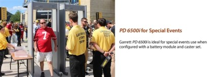 "PD 6500i™ Enhanced Pinpoint Walk-Through Metal Detector - 32.5"" ADA-Compliant Passageway Version - GRAY"
