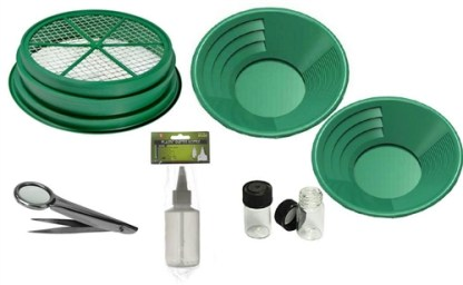 7 PC GOLD PANNING KIT