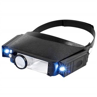 HAWK HEAD MAGNIFIER WITH LED