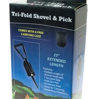 Shovel/Pick Tri Fold