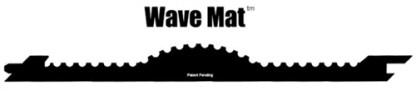 The Wave Gold Hog Mat