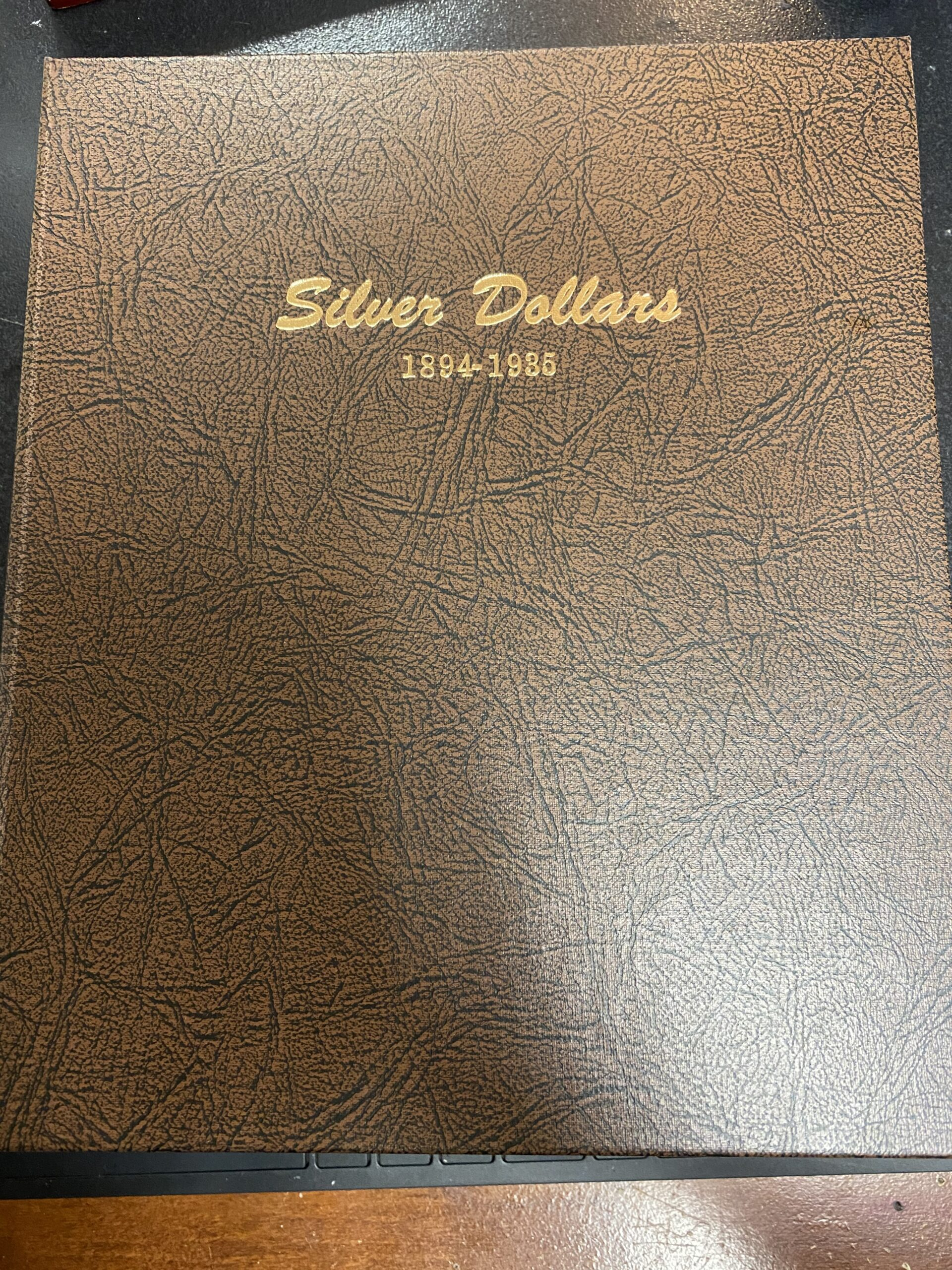Dansco Coin Album 8182 PAGE 1 ONLY American Silver Eagles 2007-2010-W
