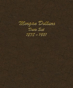7171 - Dansco Morgan Dollars Date Set 1878-1921