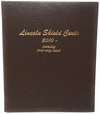 8104 - Dansco Lincoln Shield Cents 2010-2021 W/ Proofs (Extra Blank Page)