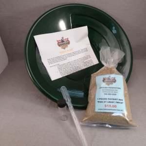 Carolina Prospectors - Gold Panning Kit - Guaranteed gold - Green Pan