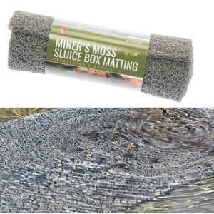 "Miners Moss 12"" X 35"" Inch - GREY"