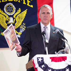 Thom Tillis. Alicia Funderburk/Carolina Public Press