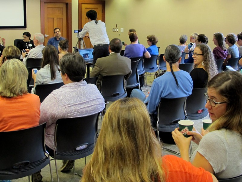 Carolina Public Press held a forum on human trafficking in North Carolina.