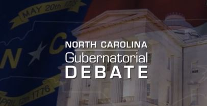 The debate between candidates for North Carolina governor was held on Oct. 11 in Chapel Hill, N.C.