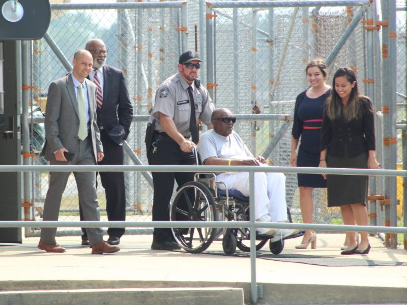 Charles Ray Finch goes free at Greene Correctional Institute in May 2019.