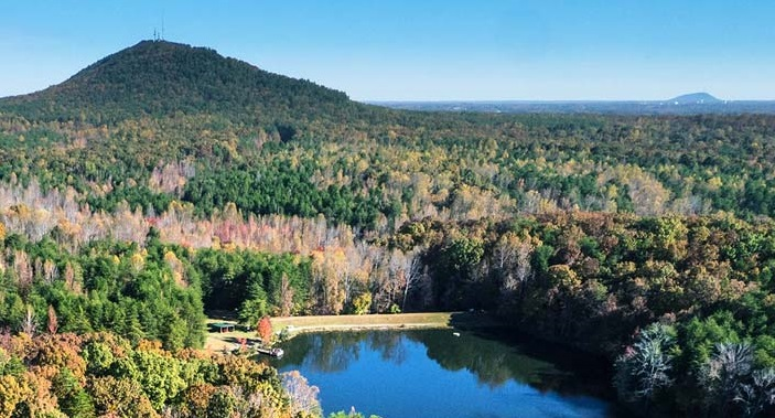 Crowders Mountain State Park was inundated with visitors in the early days of the coroanvirus pandemic. Since then, it and many other state parks have been closed.