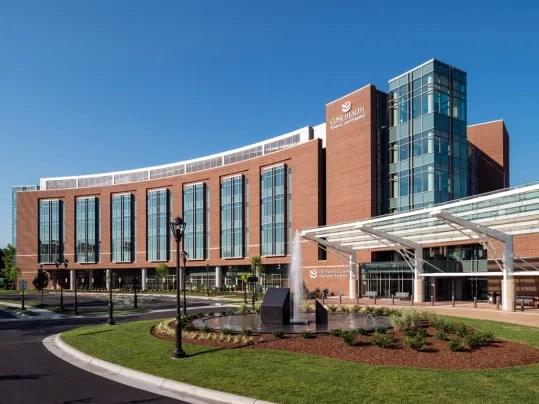 Moses Cone Hospital in Greensboro